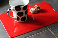 PVC Tablemat in Red